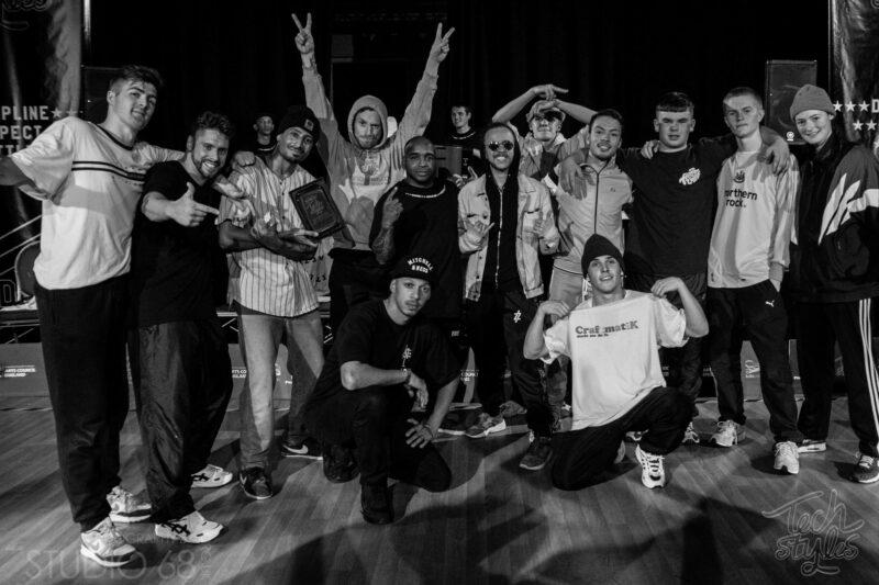 Tech Styles 5 Crew Winners