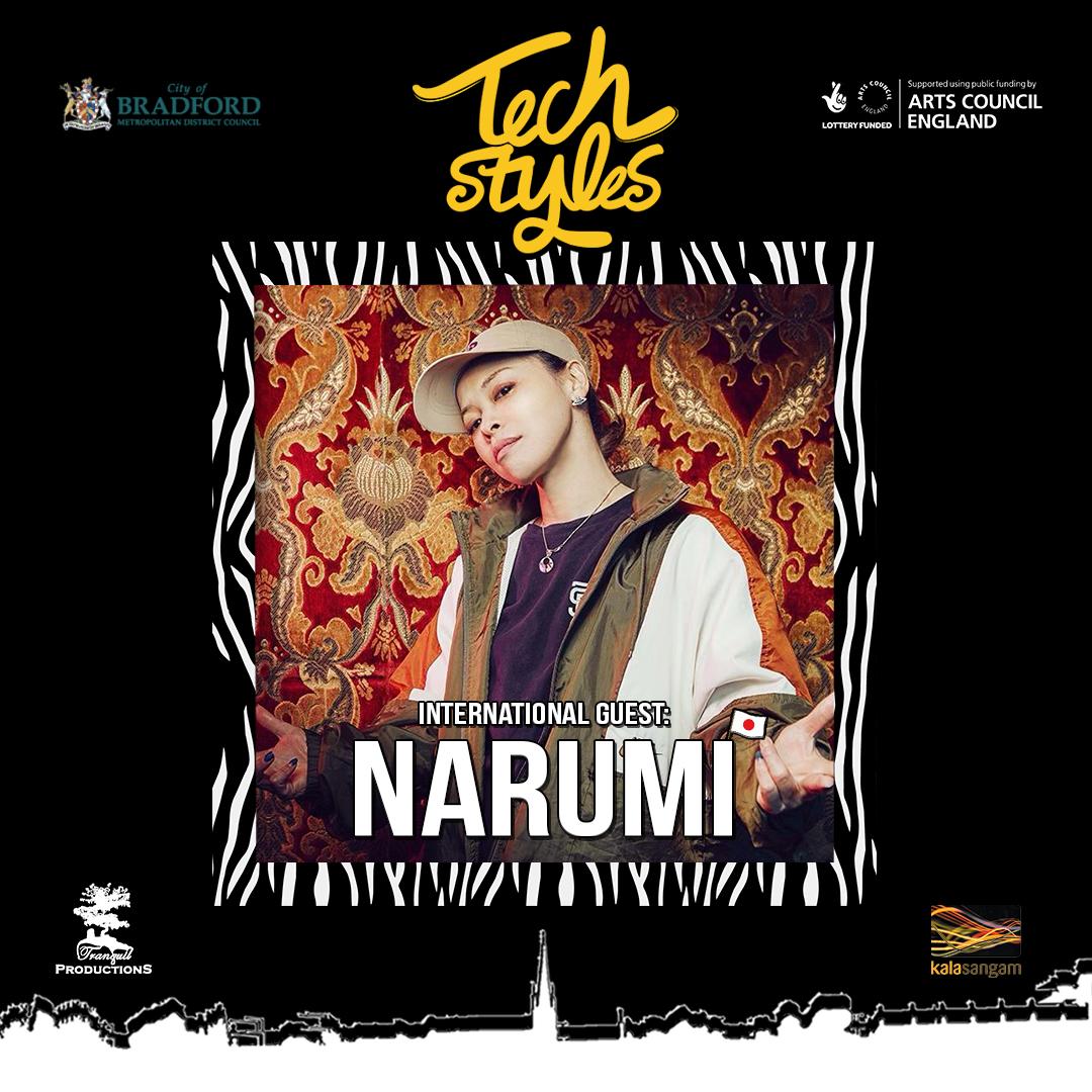 Tech Styles Judge Bgirl Narumi