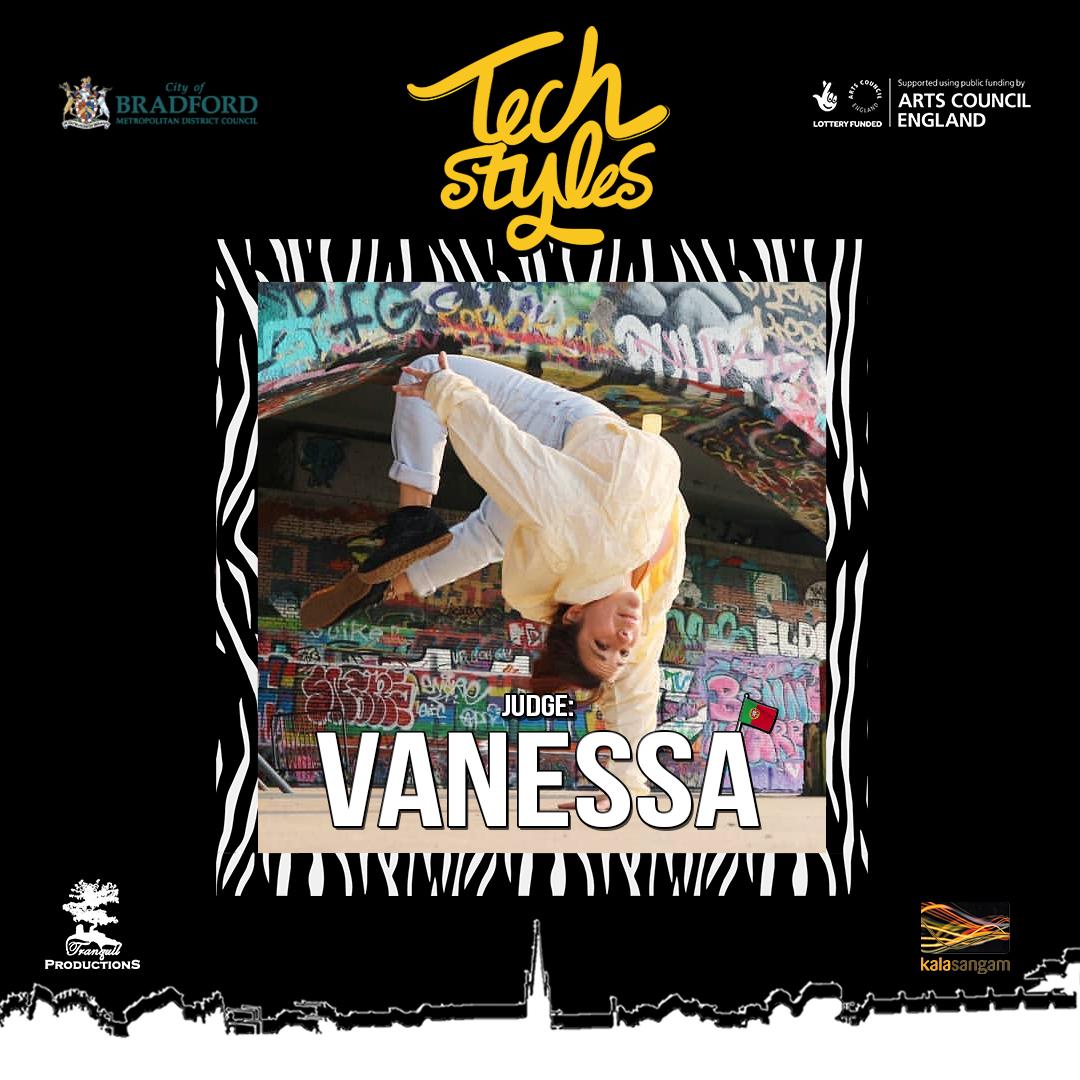 Tech Styles Judge Bgirl Vanessa